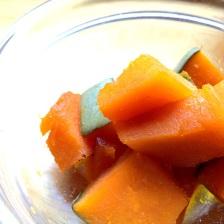 Simmered Japanese pumpkin
