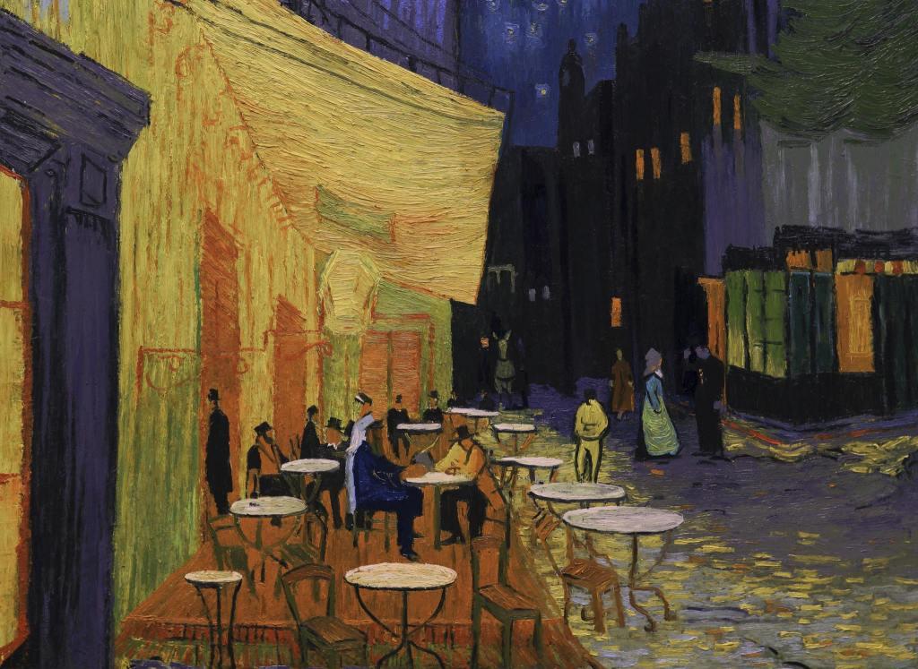th_Arles CafÇ Terrace at Night